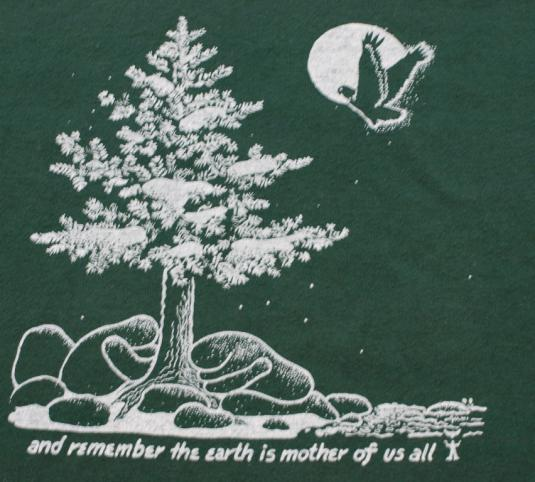 Vintage Mother Nature Earth Day T shirt