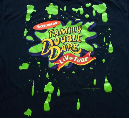 1994 Nickelodeon Family Double Dare Tour T Shirt