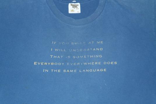Vintage 1990s CSN Crosby Stills Nash Wooden Ships T-Shirt