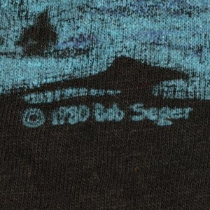 Vintage 1980 BOB SEGER Against The Wind Concert Tour T-Shirt