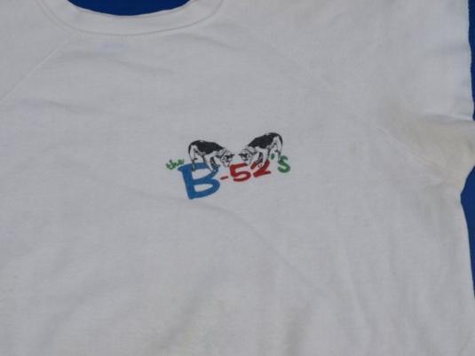 Vintage 1983 B-52's WHAMMY! Concert Tour Shirt 1980s
