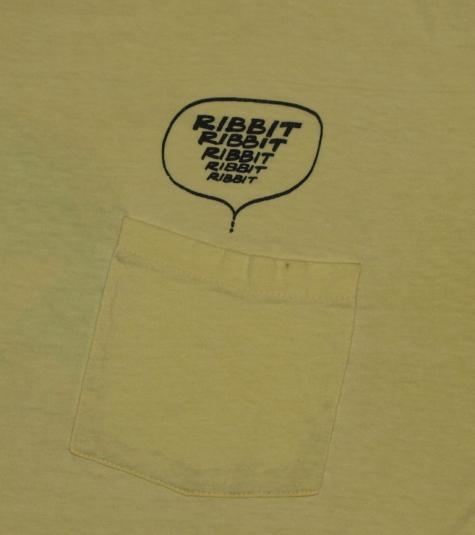 VTG 1980s O'Brien Bullfrog Surfing Bullfroggin Frog T-Shirt