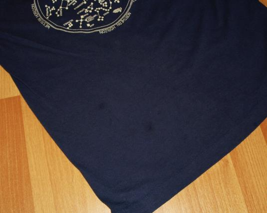 Vintage 1980s 1987 Astronomy Star Constellations T-Shirt