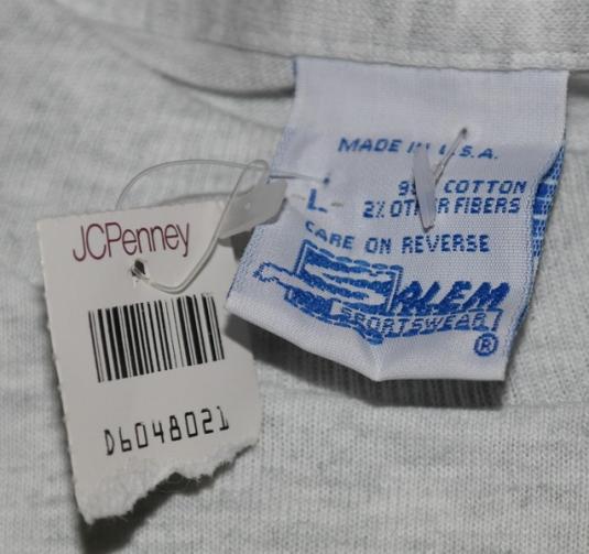 VTG 90s USA DREAM TEAM Olympic Caricature T-Shirt DEADSTOCK