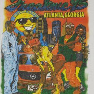 Vintage 1995 Atlanta Freaknik Hip-Hop T-shirt Tupac