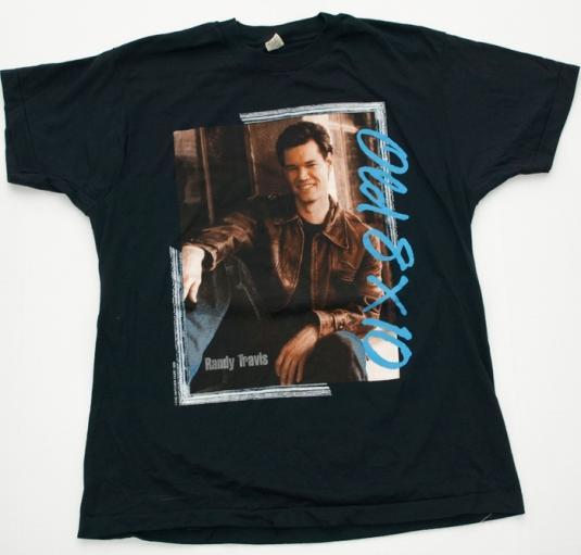 Vintage 1980s RANDY TRAVIS T Shirt