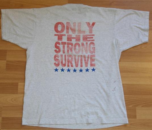 Vintage 1990 Original AMERICAN GLADIATORS Tour T-Shirt
