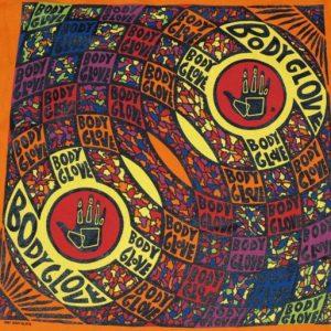 Vintage 1991 BODY GLOVE Surfing T-Shirt Orange 1990s