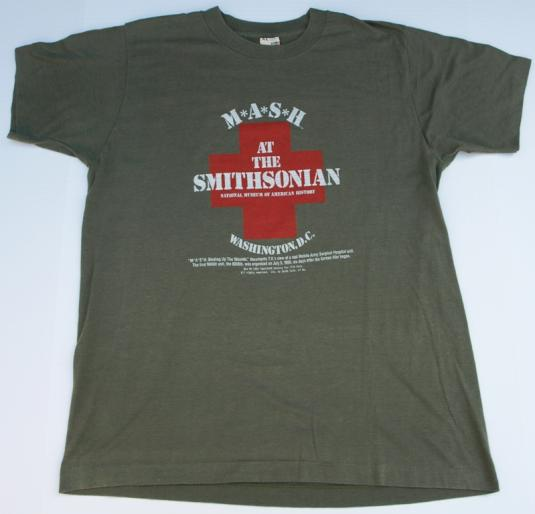 Vintage 1980s MASH at the Smithsonian T Shirt