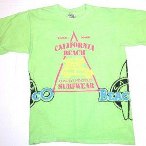 Vintage 1980s California Beach Company Surfing T-Shirt