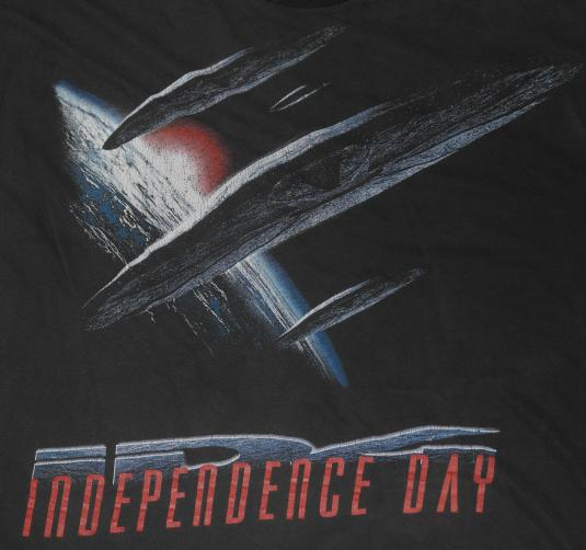 Vintage 1990s ID4 Independence Day Movie T-Shirt Original