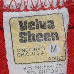 Vintage 1980 Cincinnati Earthquake Red T-Shirt 80s