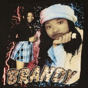 VTG 90's BRANDY Sitting In My Room T-Shirt Waiting to Exhale