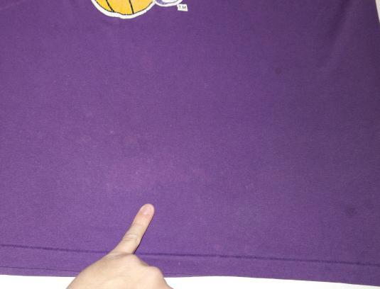 Vintage 1980s LA LAKERS Los Angeles NBA Basketball T-Shirt