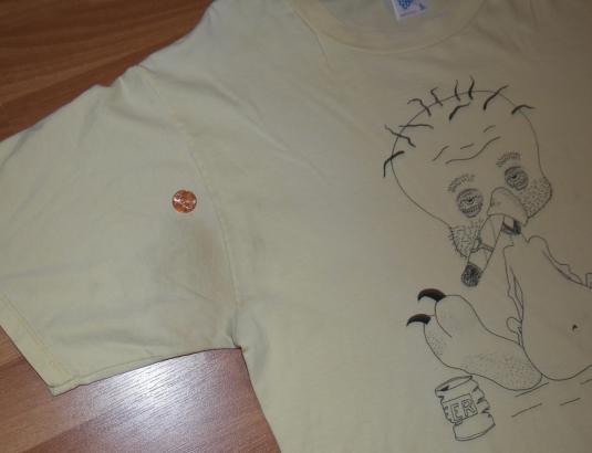 Vintage 1980s Tweety Bird Beer Weed Pot Smoking T-Shirt