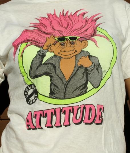 Vintage TREASURE TROLL Attitude T-Shirt