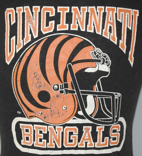 Vintage 1980's Cincinnati Bengals NFL Football T-Shirt 80s