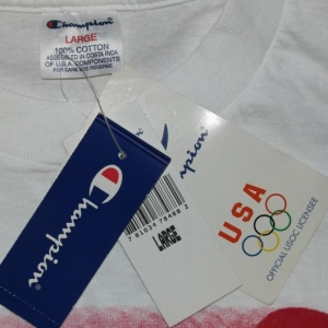 VTG 1996 Olympic Games Atlanta Champion DEADSTOCK T-Shirt