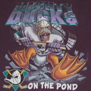 Vintage 1990s Mighty Ducks NHL Hockey T-Shirt