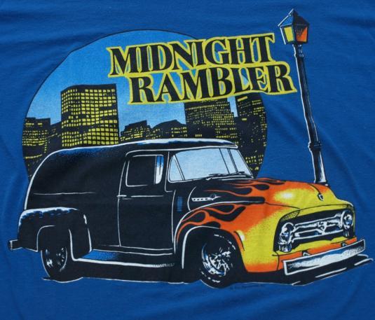 Vintage Midnight Rambler Hot Rod City T Shirt