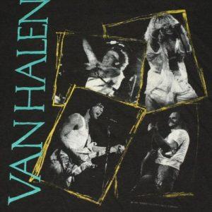 Vintage 1988 VAN HALEN OU912 Concert Tour T-Shirt
