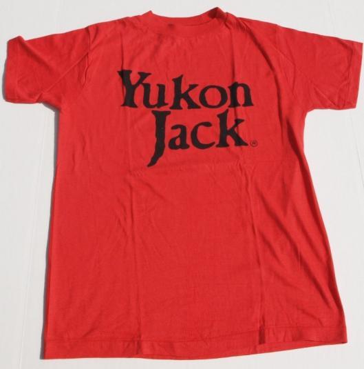 1978 Yukon Jack 100 Proof Whiskey Shirt