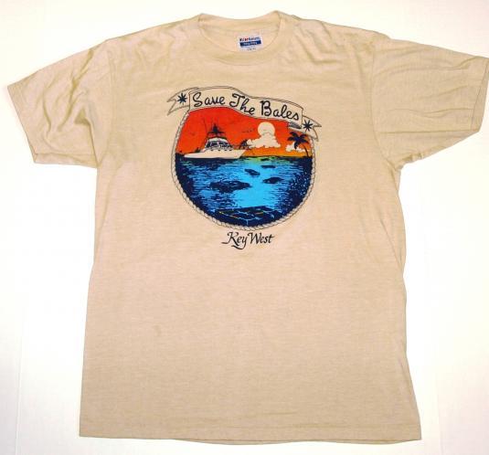 Vintage 1980s Key West Florida Marijuana Pot T Shirt