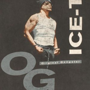 Vintage 1991 ICE-T Original Gangster OG T-Shirt
