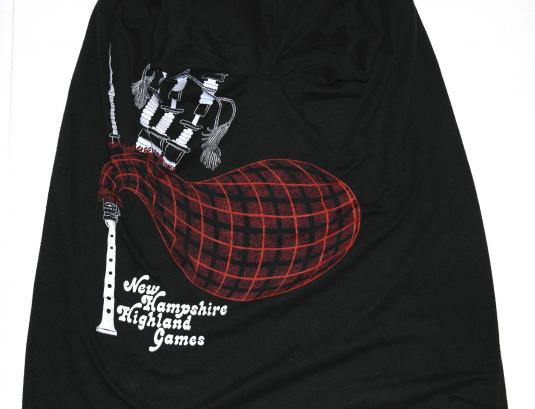 Vintage 1980s New Hampshire BAGPIPES COSTUME T-Shirt