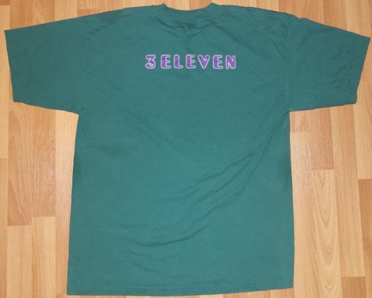 Vintage 1990s 311 THREE ELEVEN Rock Concert Tour T-Shirt 90s