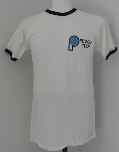 Vintage 1970s PENNCO TECH College Math Equation T-Shirt