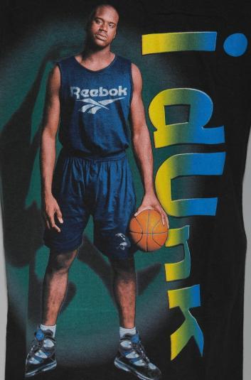 VTG 1990's Shaquille O'Neal Shaq I DUNK Basketball T-Shirt