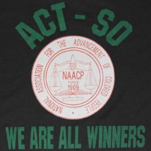 VTG 80s NAACP African American Black Screen Stars T-Shirt