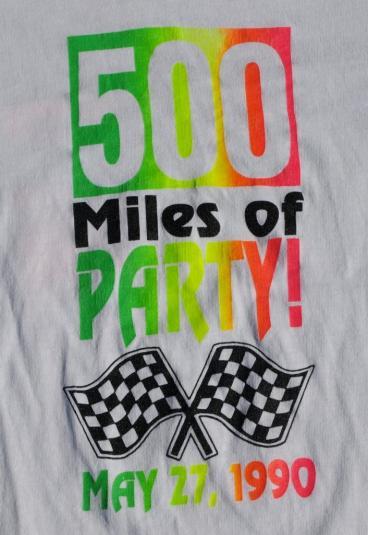 1990 Indy 500 Auto Racing Shirt