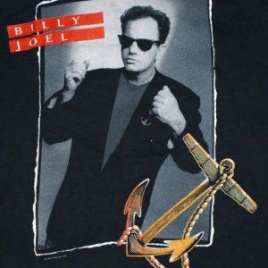Vintage 1989 BILLY JOEL Storm Front Concert Tour T-Shirt Te