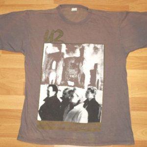 Vintage 1985 U2 Unforgettable Fire European Tour T-shirt