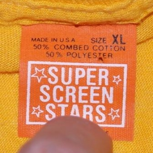 Vintage University of Michigan Super Screen Stars T-Shirt