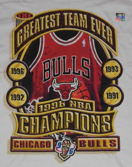 VTG 90s CHICAGO BULLS Starter Championship NBA Tee DEADSTOCK