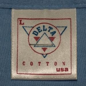 Vintage 90s Alaska Polar Bear Blue T-Shirt 1990