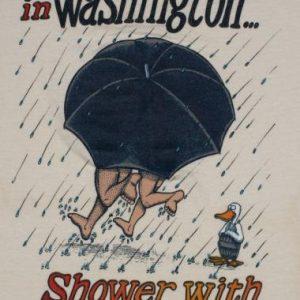 Vintage 1980s Washington Conservation Water 1984 T-Shirt