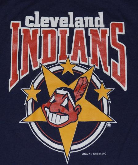 Vintage 1980s CLEVELAND INDIANS Chief Wahoo Tank Shirt