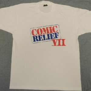 Vintage 1995 COMIC RELIEF VII Stand Up Comedy T-Shirt