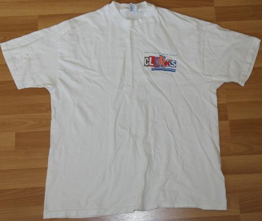 VTG 90s 1994 CLERKS Movie Soundtrack T-Shirt Alice In Chains
