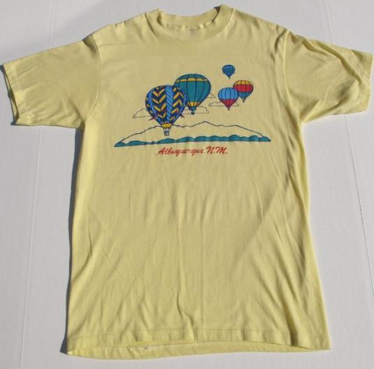 Vintage 1980s Albuquerque New Mexico Balloon Festival Shirt