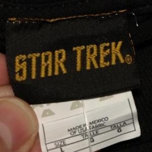 Vintage 90s STAR TREK Next Generation William Riker T-Shirt