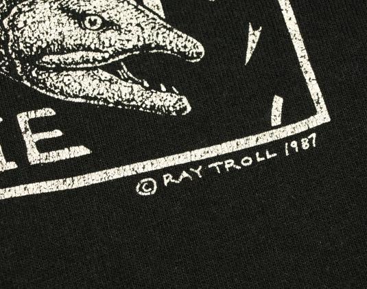 Vintage 1987 SPAWN TILL YOU DIE Motley Crue Art T-Shirt