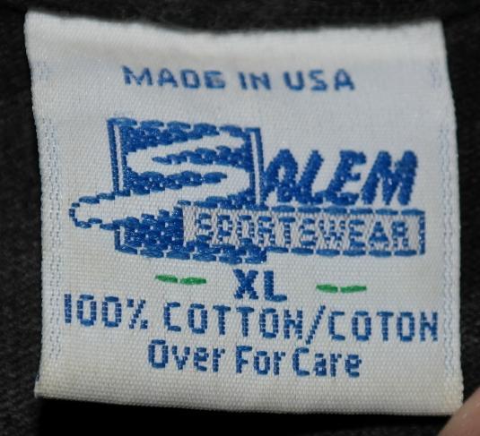 Vintage 1990's Boston Bruins NHL Hockey T-Shirt Salem