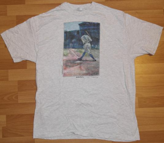 Vintage 1990s BABE RUTH New York Yankees NY 90's T-Shirt