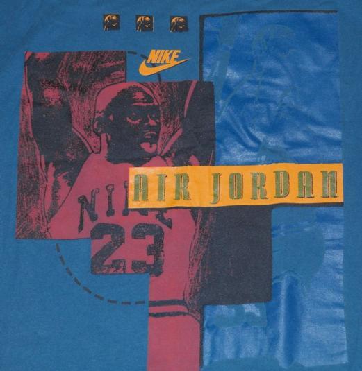 VTG 1990s Air Jordan Michael NIKE T-Shirt 90's Chicago Bulls