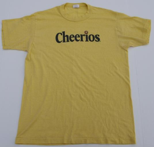 1980s CHEERIOS Cereal T-Shirt
